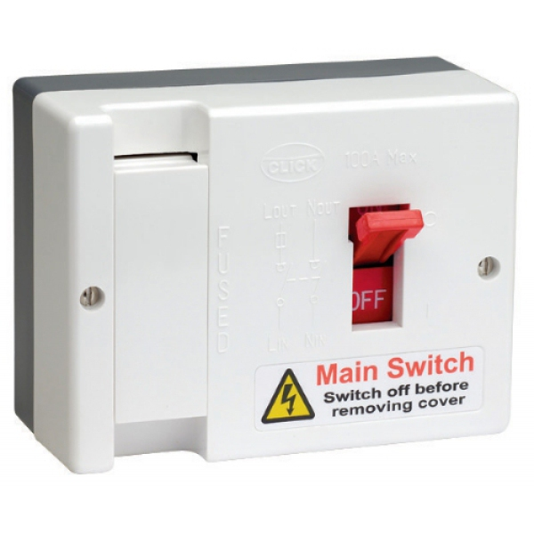 Surprising 100A Max Fused Main Switch Fitted With 80A Fuse Db750 Ps Wiring Digital Resources Almabapapkbiperorg