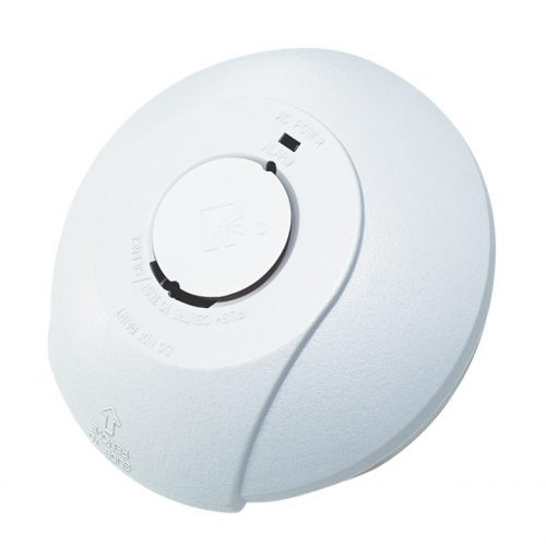 Hispec Photoelectric Smoke Alarm Interconnectable With 9v